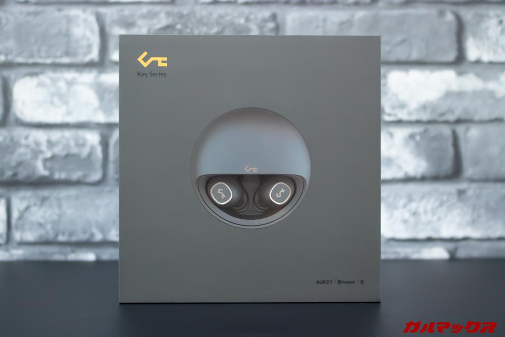 AUKEY Key Series EP-T10の外箱は高級機に匹敵するデザイン。