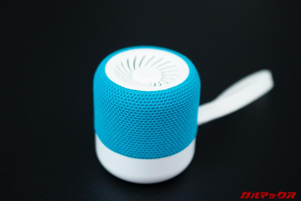KiWi Q1のブルーは爽やかな印象の明るい色合いです。