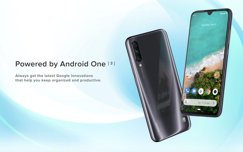 Xiaomi Mi A3はAndroid One仕様。