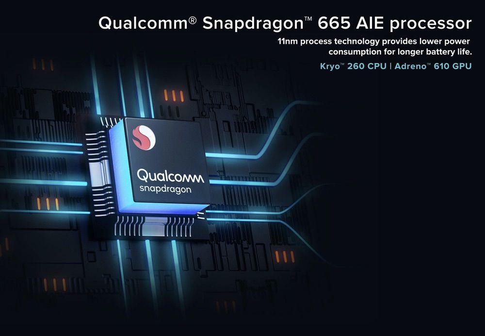 Xiaomi Mi A3はSnapdragon 665を搭載。