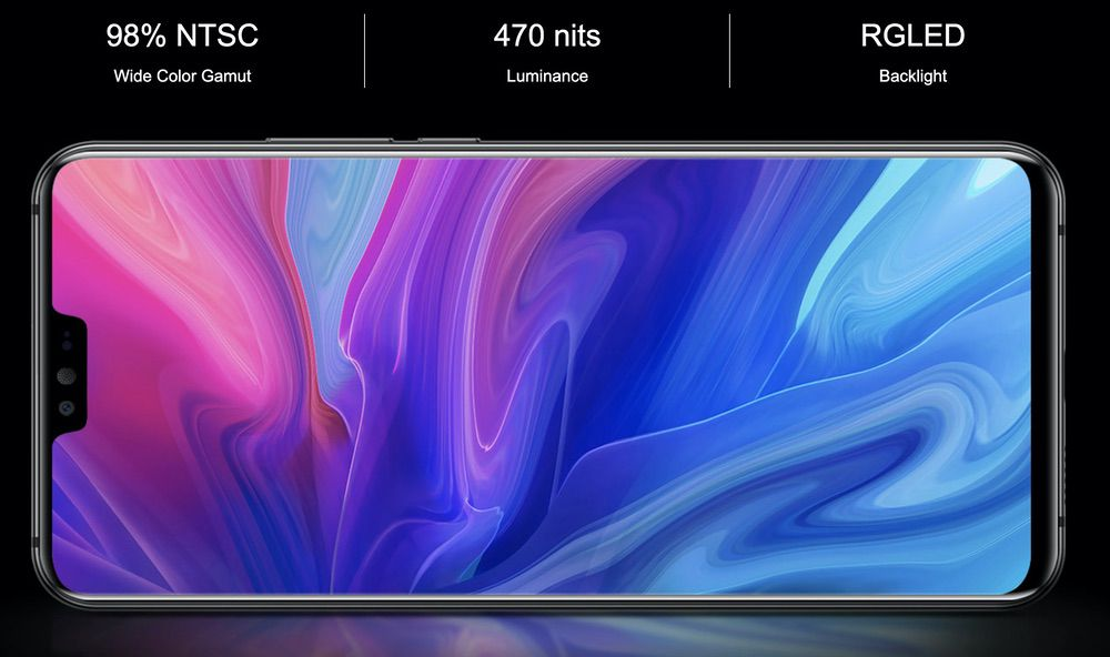 Ulefone T2は高い輝度が魅力!