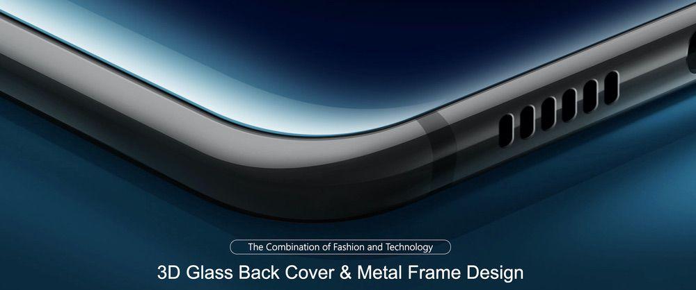 Ulefone T2は高価格帯モデルで人気のガラス背面パネルとメタルサイドフレームを採用!