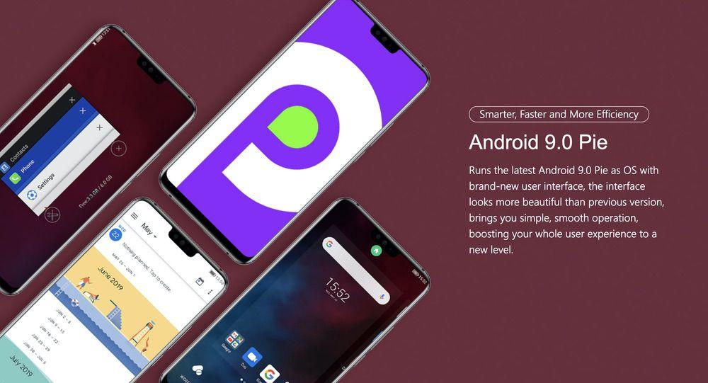 Ulefone T2はAndroid 9を採用するスマートフォン