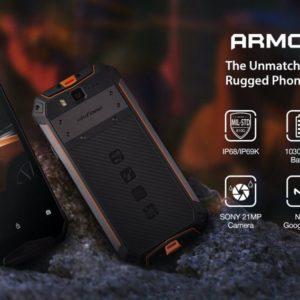 Ulefone Armor 3Wのスペック、対応バンド、価格、特徴まとめ!