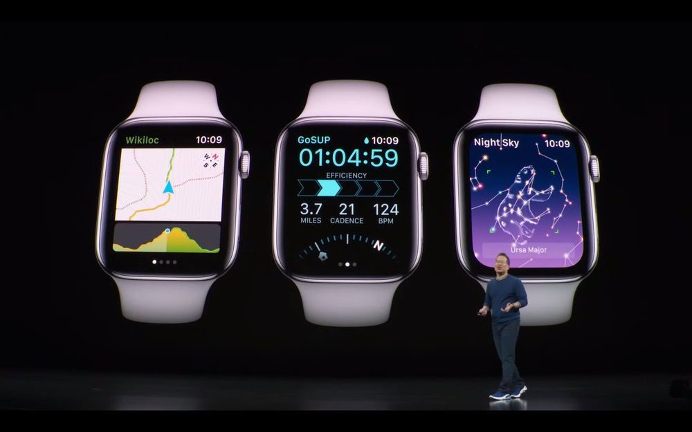 Apple Watch Series 5プレゼン3