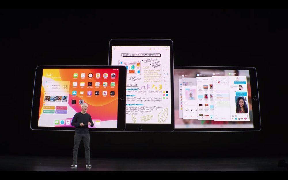 2019年iPadのApple発表会1