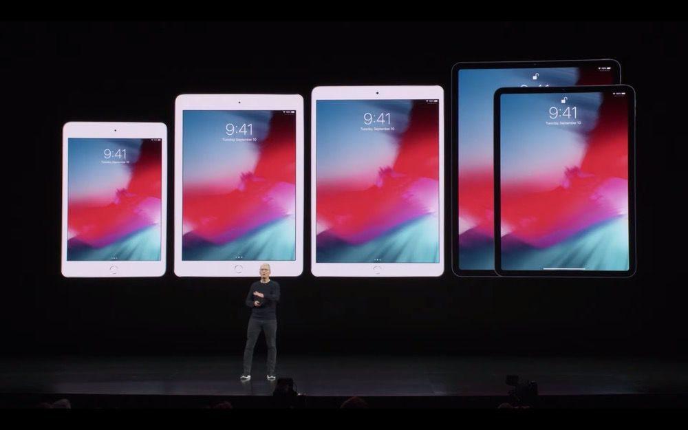2019年iPadのApple発表会2