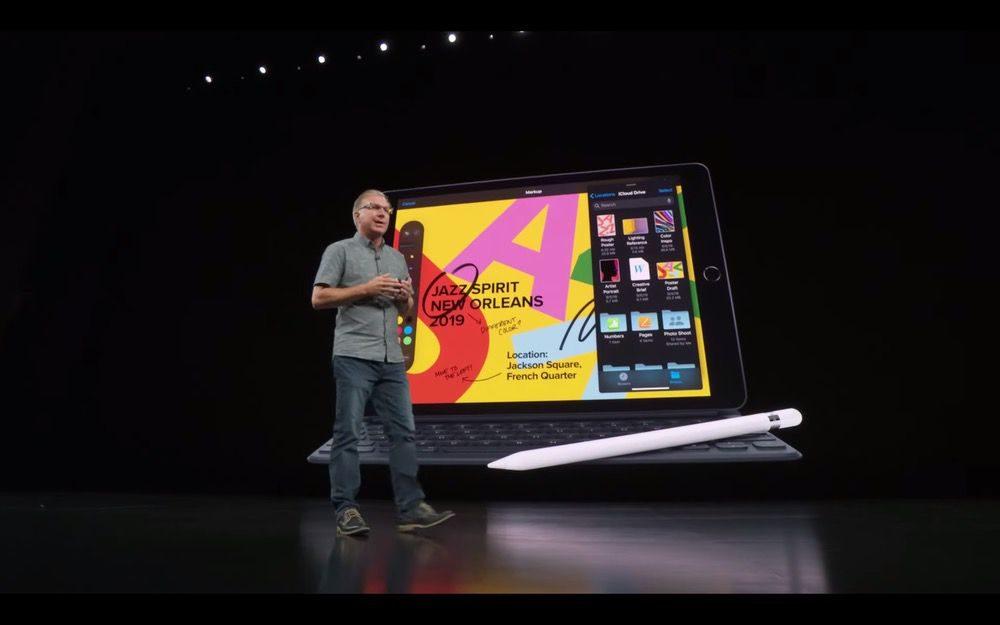 2019年iPadのApple発表会3