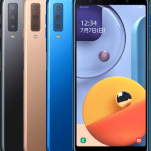 Galaxy A7(楽天モバイル版)のスペック、対応バンド、価格、特徴まとめ!