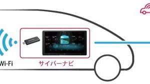 車内でLTE使い放題「docomo in Car Connect」初対応!パイオニア、サイバーナビ新製品発表。