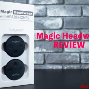 好みのヘッドバンドに装着出来る!ユニークなBluetoothヘッドホン「Magic Headwear」レビュー!