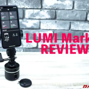 LUMI Mark-Ⅰのレビュー!YouTuber目指すなら欲しい!高度なパンと滑らかなトラッキングができる撮影補助ガジェット