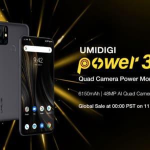 UMIDIGI Power 3登場!大容量バッテリーと4カメラ搭載スマホ!初売り割引は見逃すな!