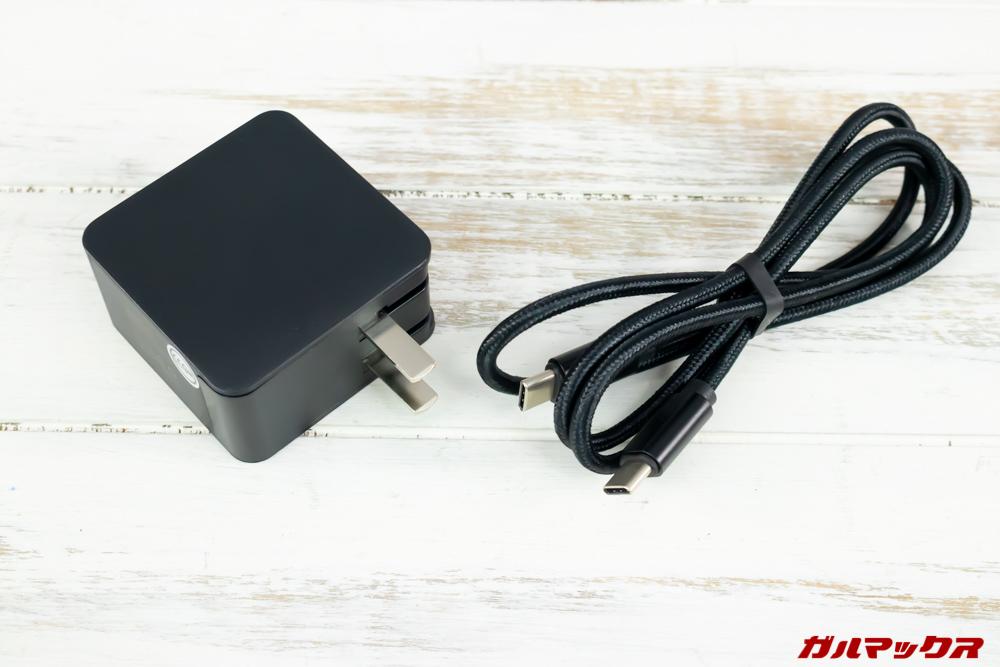 MAG1の充電器は日本でもそのまま利用可能です。