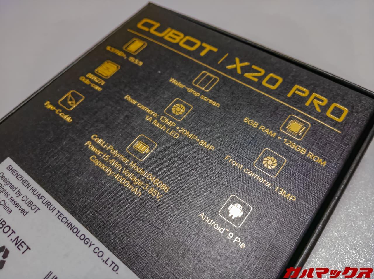 CUBOT X20