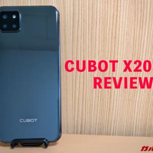 CUBOT X20 Proのレビュー!実機を使って感じた良いところとイマイチなところ