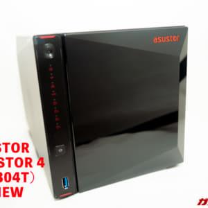 ASUSTOR NIMBUSTOR 4 (AS5304T)のレビュー!ゲームユーザにオススメな高速転送ができる多機能NAS