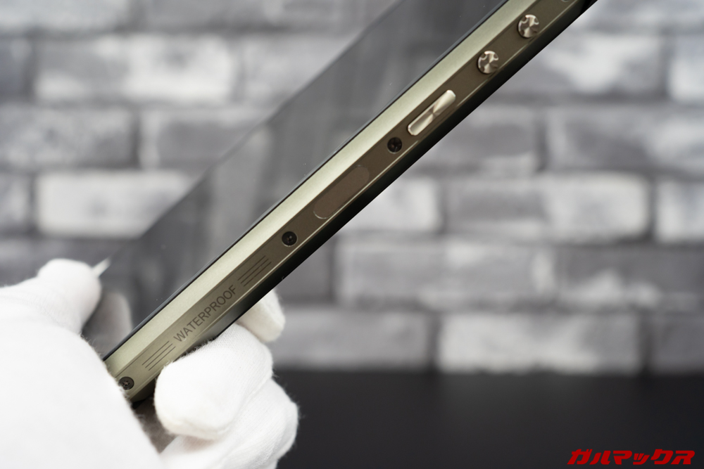 Ulefone Armor 7の指紋センサーは少々精度と速度に難あり。同じ指を重複登録出来るので反応が悪いなら複数登録がオススメ。