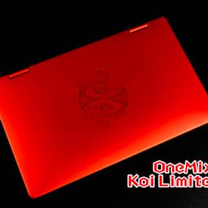 OneMix 3 Pro Koi Limited Editionのレビュー!気になった・気にいったポイントまとめ!