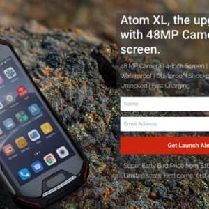 【小型タフネス系スマホ!】Unihertz Atomが少し大きくなって登場!その名もAtom L/Atom XL!