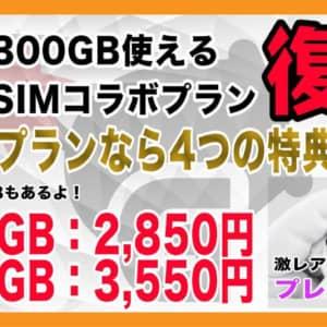 モナWiFi × ガルマックス最新コラボ発動!裏モナSIMも新料金で復活!【特典多数】