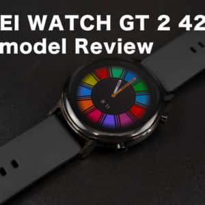 HUAWEI WATCH GT 2のレビュー。42mmを使うと46mmが急激に欲しくなった