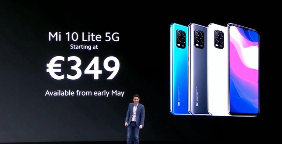Xiaomi Mi10 Lite 5G