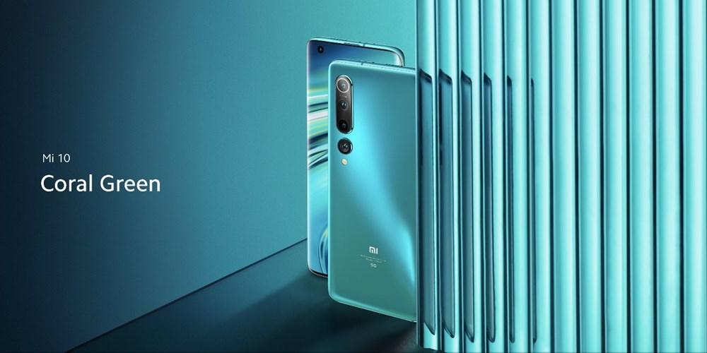 Xiaomi Mi10 コーラルグリーン