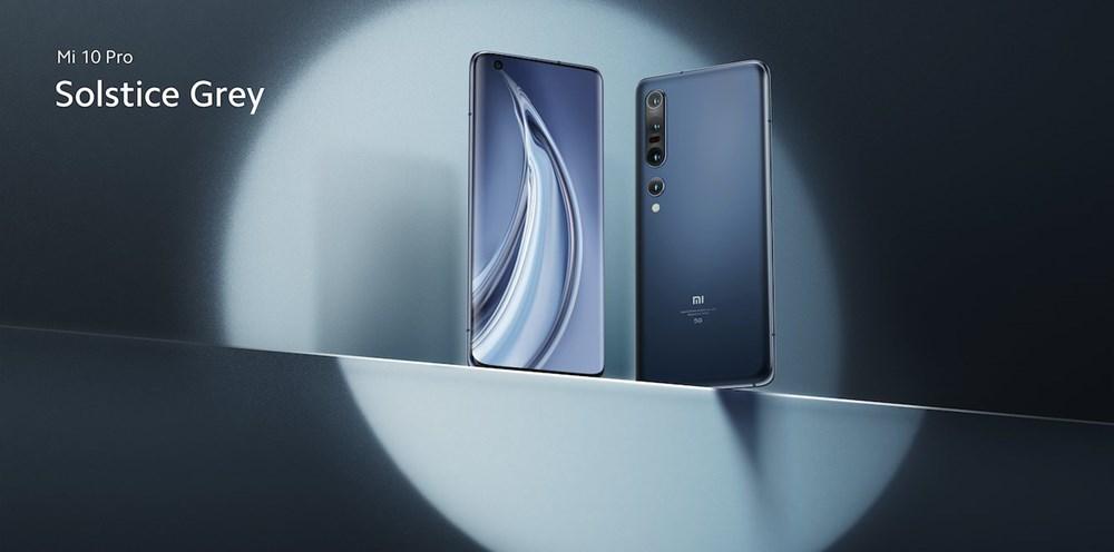 Xiaomi Mi10 Pro ソルスティスグレー