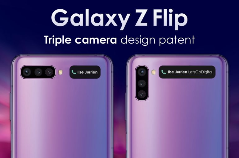 Galaxy Z Flip-Leek