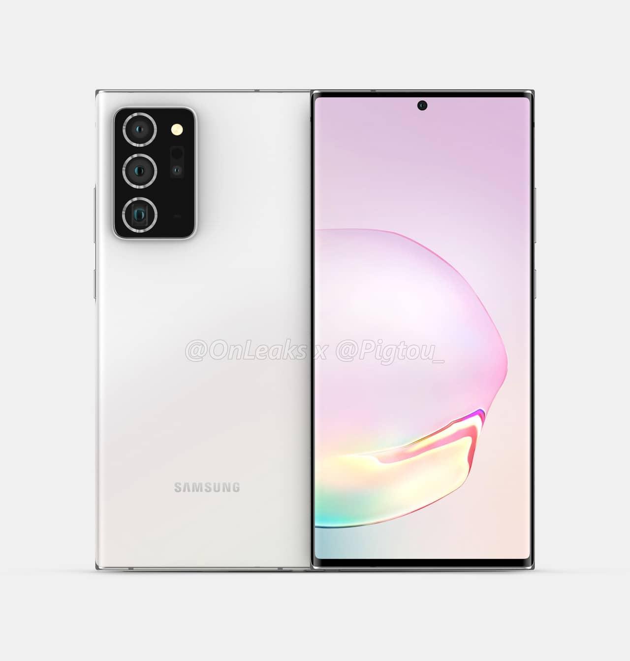 Galaxy Note20+-Leak