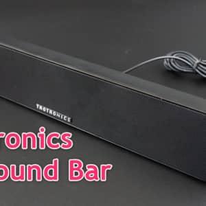 Taotronics PC Sound Barのレビュー!約4千円のツイーター搭載スピーカーは中高音域の伸びが良かった!