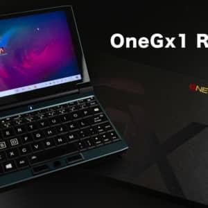 7型ゲーミングUMPC「OneGx1」のレビュー!Core i5なのでGeForce NOWも検討しよう!