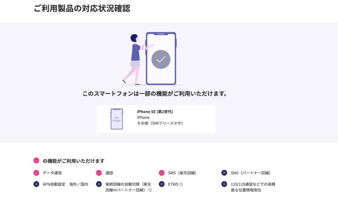iOS版Rakuten Link