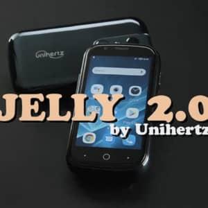 Unihertz Jelly 2のスペック・特徴まとめ!FeliCa付きも選べる3インチのコンパクトスマホ!