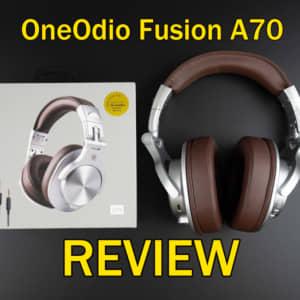 OneOdio Fusion A70のレビュー!音質と機能性を重視する方にオススメなBluetoothヘッドホン