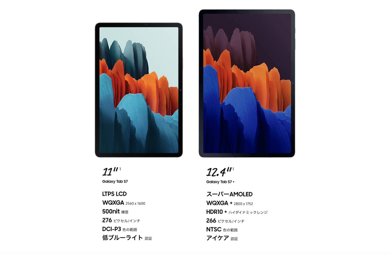 Galaxy Tab S7 | S7 +