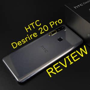 HTC Desire 20 Proレビュー!実機を使ってイマイチだった点、良かった点
