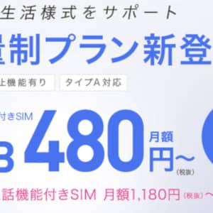 IIJmioがau回線のデータ従量プランを提供。2GB以降は1GBあたり220円と低価格