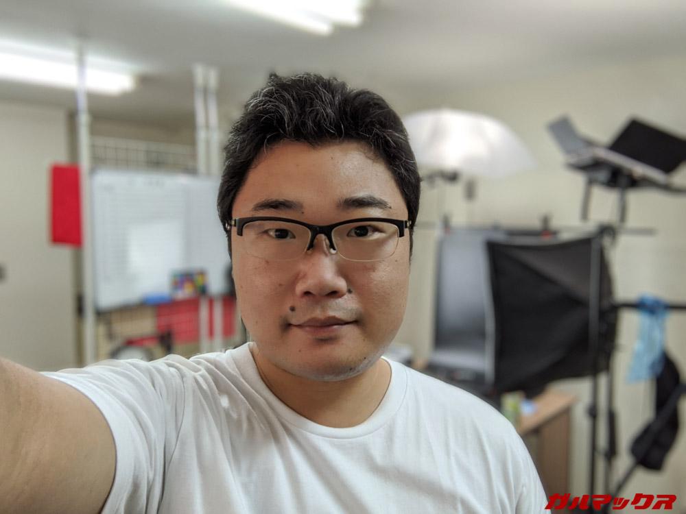 Pixel 4a/インカメラ/ポートレート