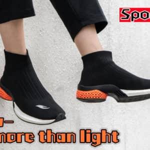 3Dプリント製ソール採用のソックス型スニーカー「Light more than light」クラファン開始!