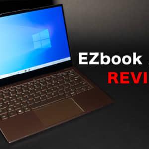 Jumper EZbook X3 Airのレビュー!