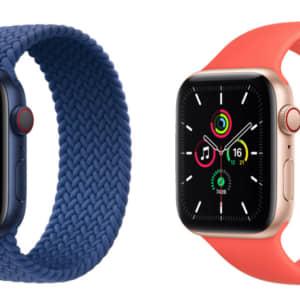 Apple Watch 6とApple Watch SEってどっちがおすすめ?違いを比較!
