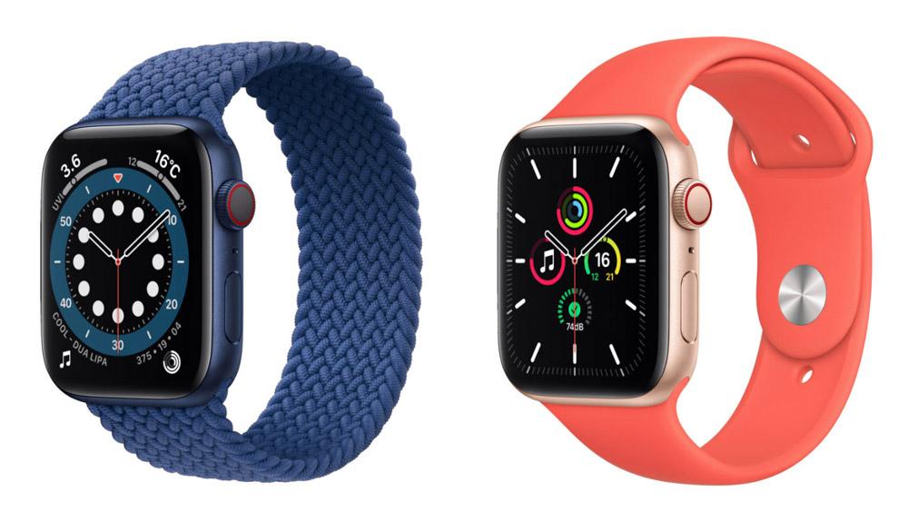 Apple Watch 6 Apple Watch SE