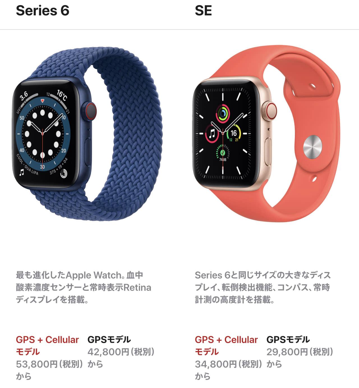 Apple Watch 6-Apple Watch SE