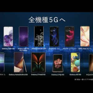 au 2020年秋冬スマホはこれだ!Galaxy Z Fold2 5Gを含む6機種発表!