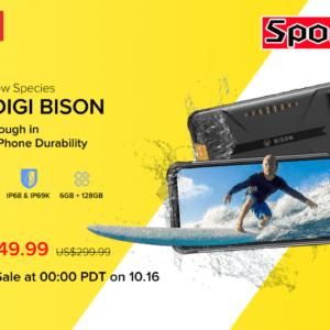 UMIDIGI A7Sが9月26日まで約7,400円セール!UMIDIGI BISONは149.99ドルで発売予定!