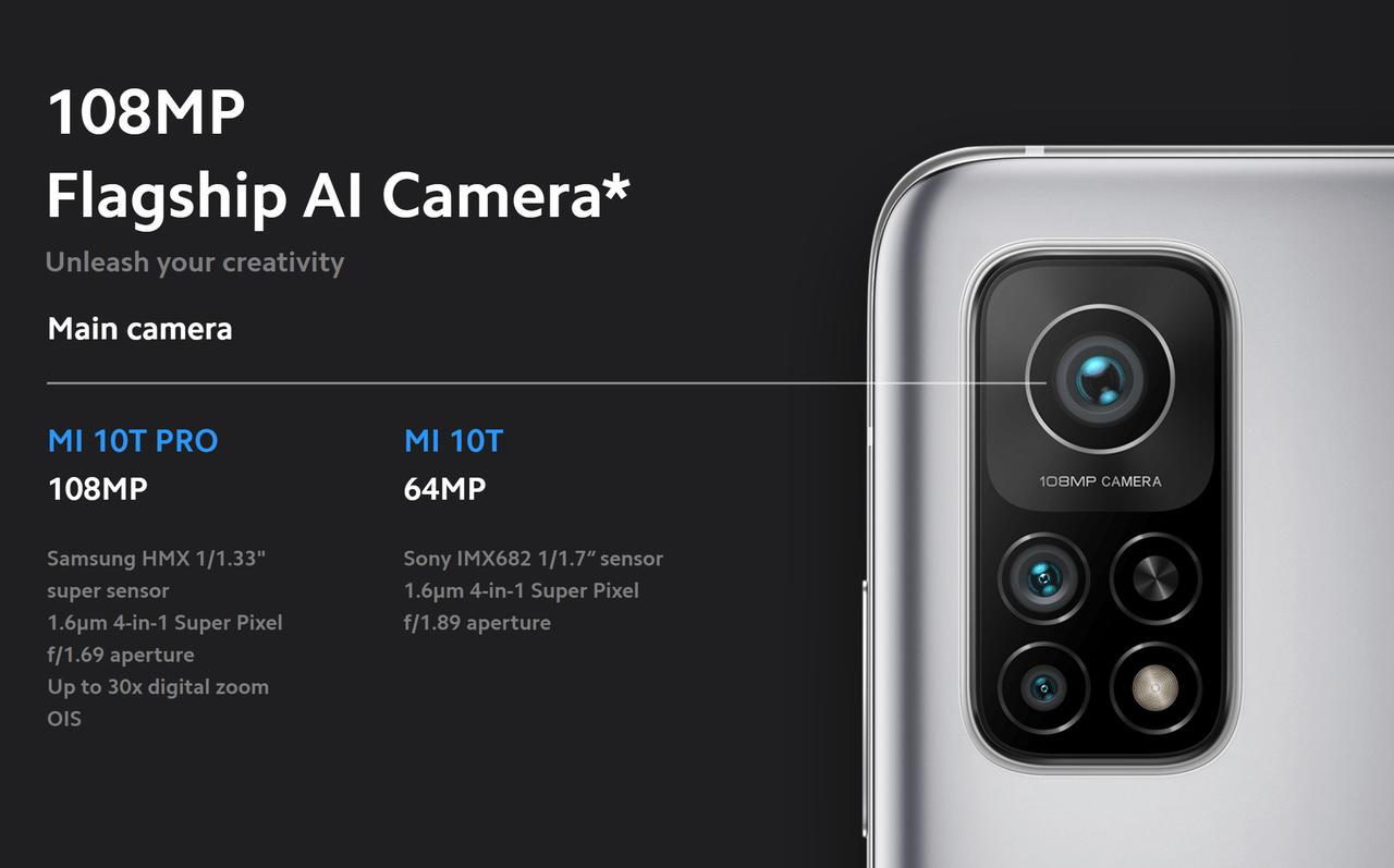 Xiaomi Mi 10T 5G Xiaomi Mi 10T Pro 5G
