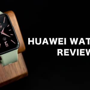 スマートウォッチ「HUAWEI WATCH FIT」レビュー!軽量・大画面なのに電池持ちが凄く良い!
