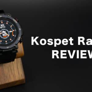 Kospet Raptorのレビュー。タフネスデザインのよくある激安スマートウォッチ